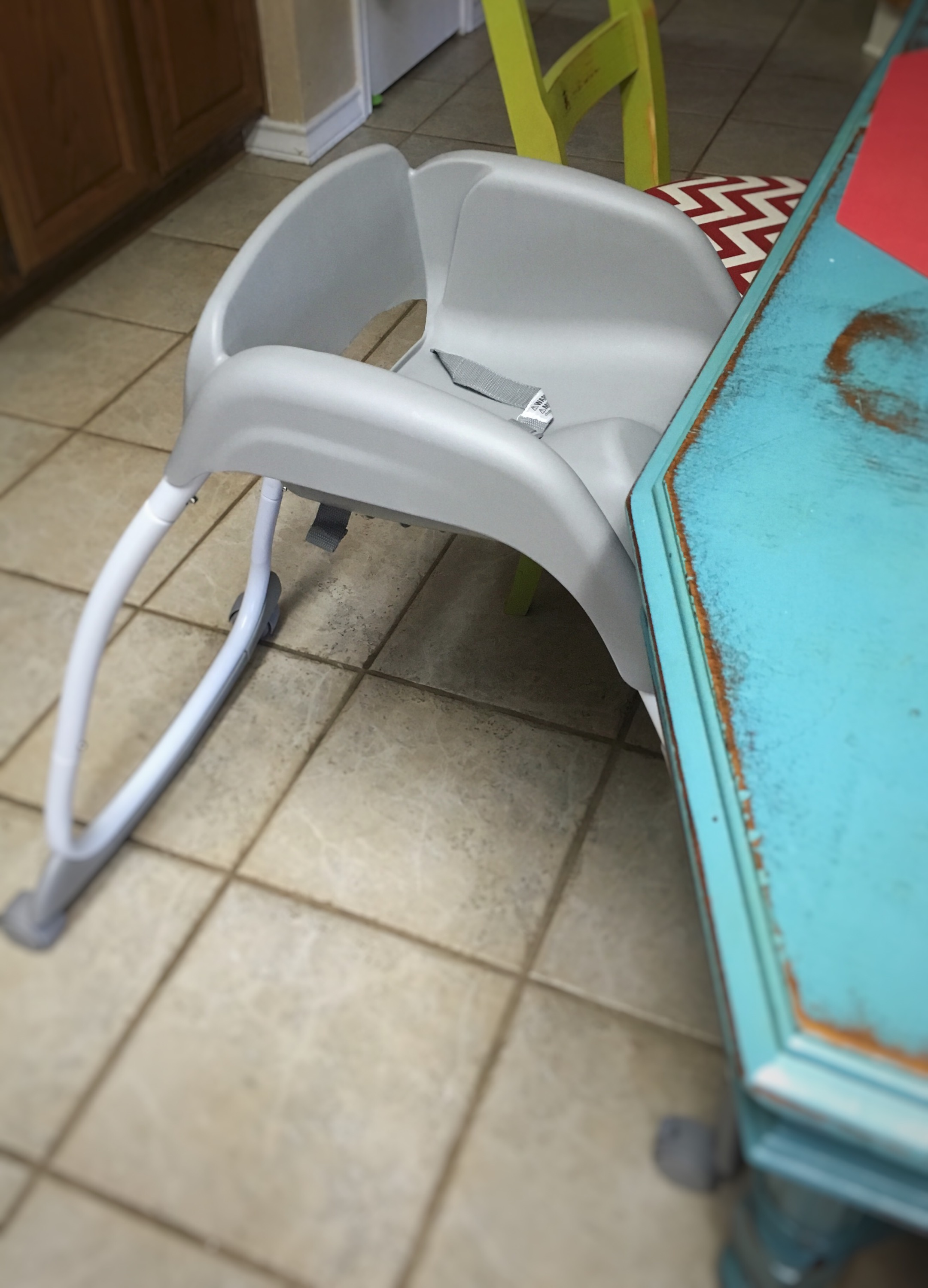 chair booster baby seat chairs table base ingenuity and the floor on in high aqua from feeding