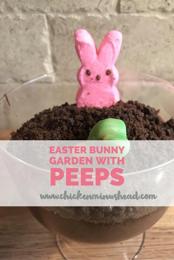 Easter Bunny Garden with Peeps