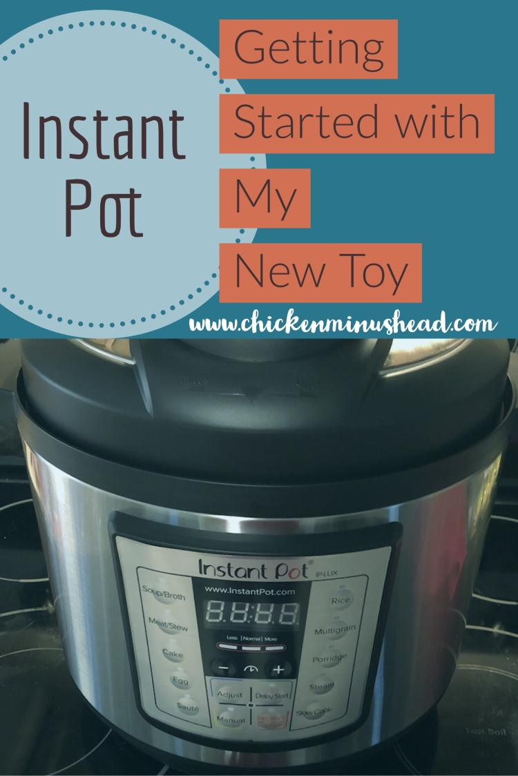 Getting Started with my Instant Pot