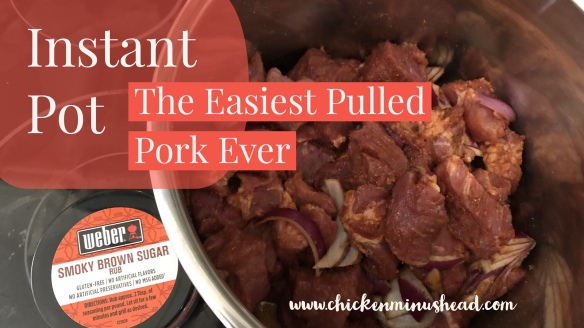 Instant Pot- The Easiest Pulled Pork Ever