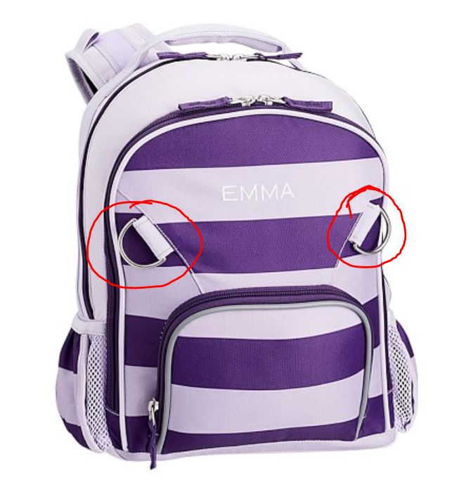 Fairfax Backpack New- Small Size – Chicken Minus Head 4b11a65040653
