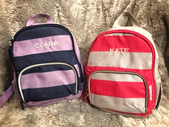 Pottery Barn Fairfax Pre-K Toddler Backpack Front