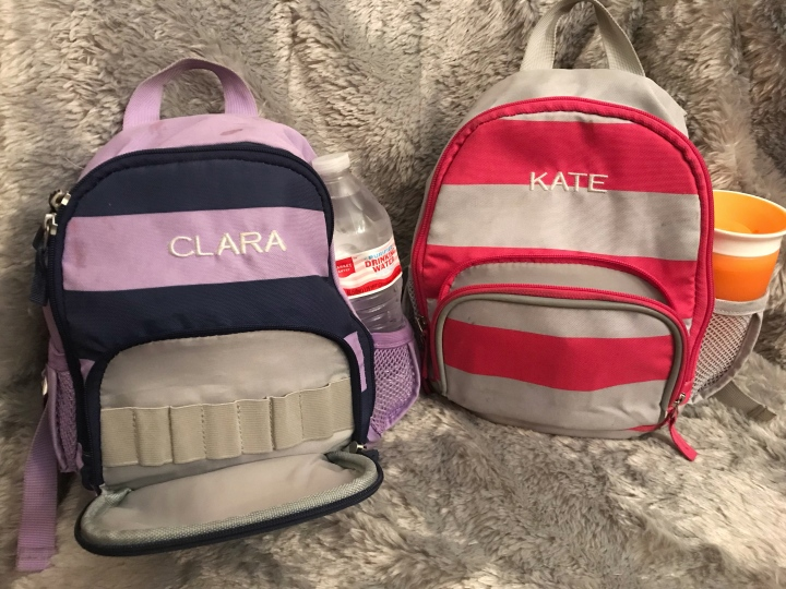 Pottery Barn Fairfax Pre-K Toddler Backpack Pockets