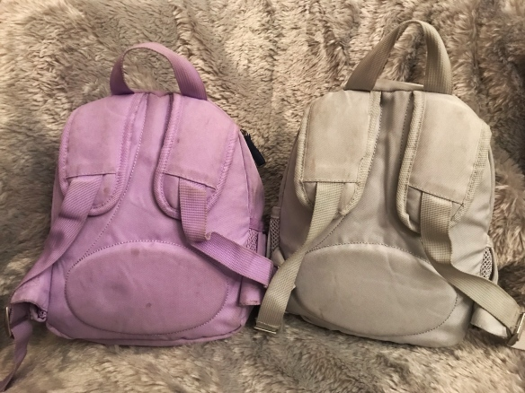 Pottery Barn Fairfax Pre-K Toddler Backpack Straps and padding